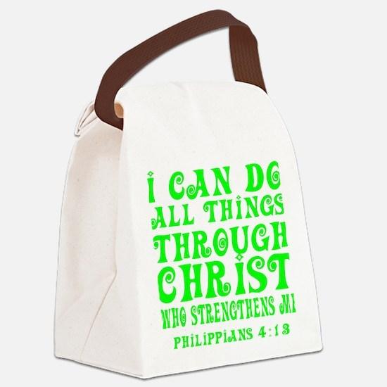 Cute Phil Canvas Lunch Bag