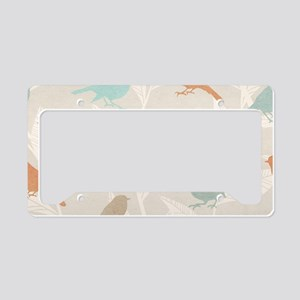 Pretty Birds License Plate Holder