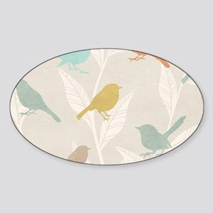 Pretty Birds Sticker