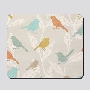 Pretty Birds Mousepad