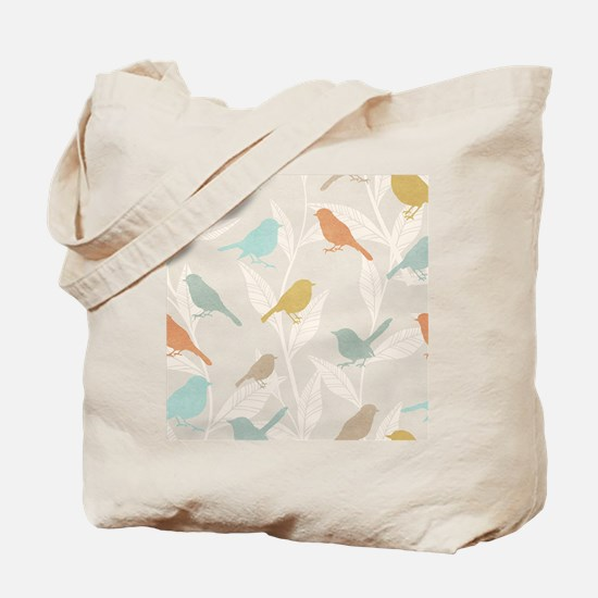 Pretty Birds Tote Bag