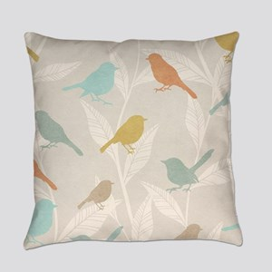 Pretty Birds Everyday Pillow