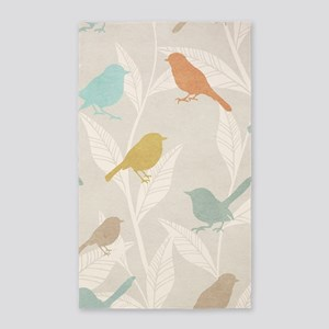 Pretty Birds Area Rug