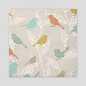 Pretty Birds Queen Duvet