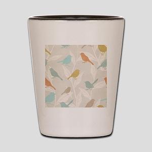 Pretty Birds Shot Glass