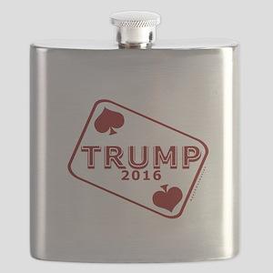 TRUMP CARD 2016 Flask