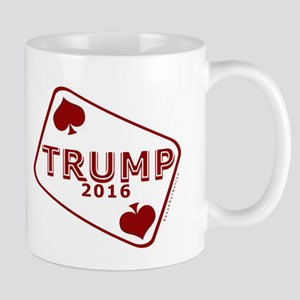 TRUMP CARD 2016 Mugs