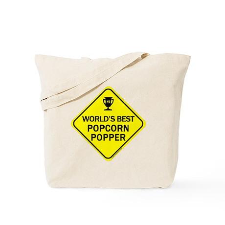 Popcorn Popper Tote Bag
