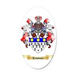 Rawbone Oval Car Magnet