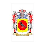 Raven Sticker (Rectangle 10 pk)