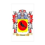 Raven Sticker (Rectangle 50 pk)