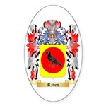 Raven Sticker (Oval 50 pk)