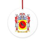 Raven Round Ornament