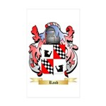 Raub Sticker (Rectangle 50 pk)