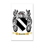Ratcliffe Rectangle Car Magnet