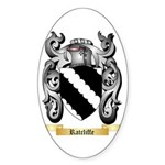 Ratcliffe Sticker (Oval 50 pk)