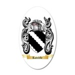 Ratcliffe 20x12 Oval Wall Decal
