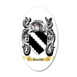Ratcliffe 35x21 Oval Wall Decal