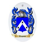 Rapson Oval Ornament