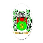 Rapley Oval Car Magnet