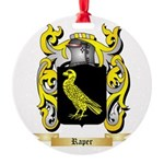 Raper Round Ornament