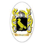 Raper Sticker (Oval)