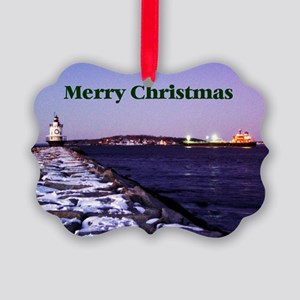 Light House 12 Picture Ornament