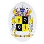 Ranzi Oval Ornament