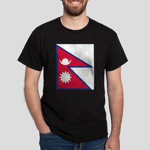 Flag of Nepal - ??????? ????? T-Shirt