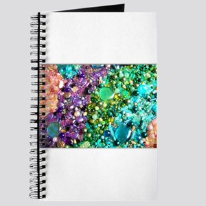 Assorted Pastel Beads Journal