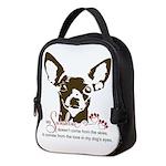 Chihuahua Dog My Sunshine Neoprene Lunch Bag