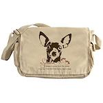 Chihuahua Dog My Sunshine Messenger Bag