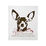 Chihuahua Dog My Sunshine Throw Blanket