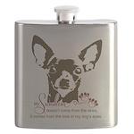 Chihuahua Dog My Sunshine Flask