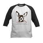 Chihuahua Dog My Sunshine Kids Baseball Jersey