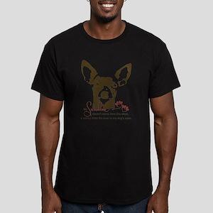Chihuahua Dog My Sunsh Men's Fitted T-Shirt (dark)
