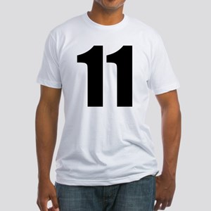 Number 11 Fitted T-Shirt