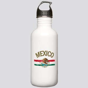 Mexican Mexico Flag Stainless Water Bottle 1.0L