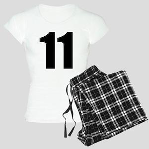 Number 11 Women's Light Pajamas