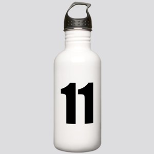 Number 11 Stainless Water Bottle 1.0L