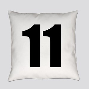 Number 11 Everyday Pillow