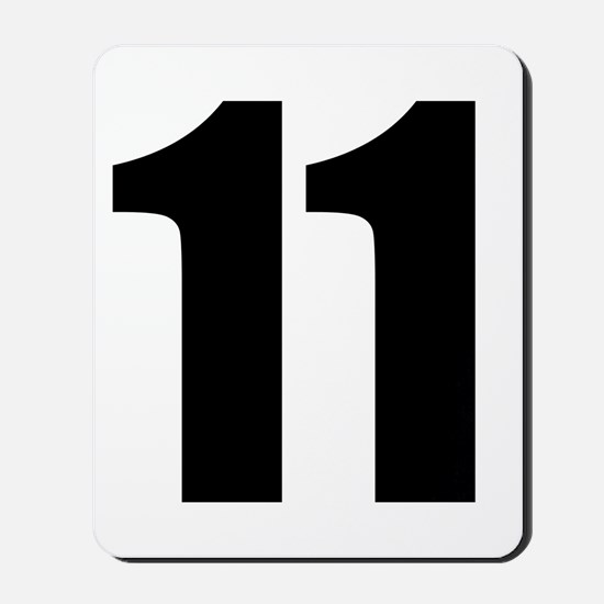 Number 11 Mousepad