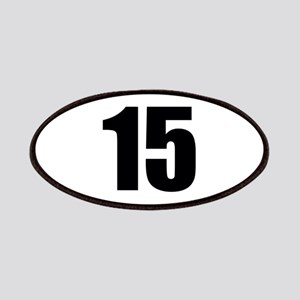 Number 15 Patch