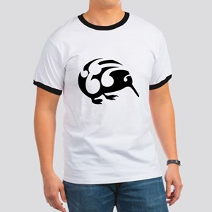Koru Kiwi New Zealand Design T-Shirt