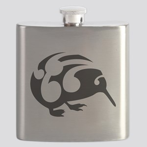 Koru Kiwi New Zealand Design Flask
