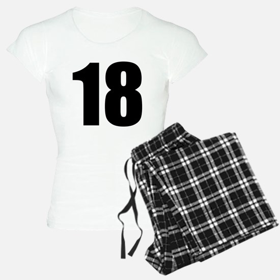 Number 18 Pajamas