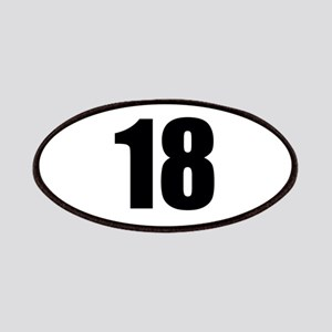 Number 18 Patch