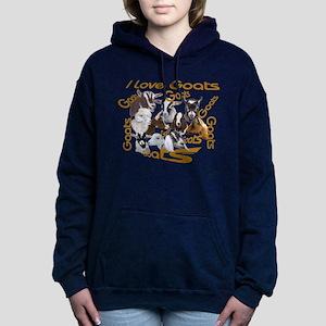 I love Goat Breed Sweatshirt