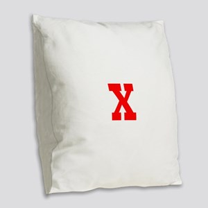 XXXXXXXXXXXXXX Burlap Throw Pillow