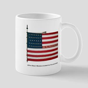 28th Massachusetts National color Mug